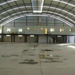 Coberturas com telha de alumínio